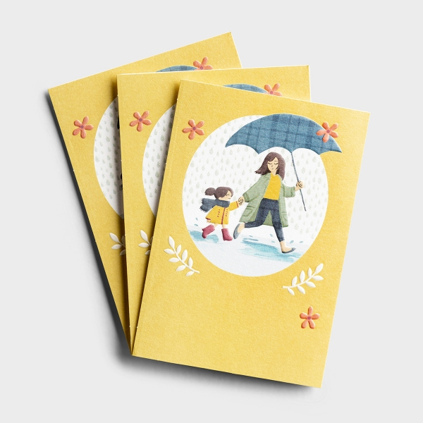 Hey Momma - Showers of Blessings - 3 Premium Cards
