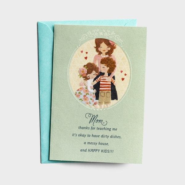 Hey Momma! - Thanks For Teaching Me, Mom - 1 Premium Card