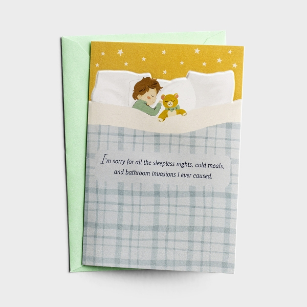 Hey Momma - You Deserve a Medal, Mom - 1 Greeting Card