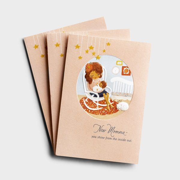 Hey Momma - New Momma - 3 Premium Cards