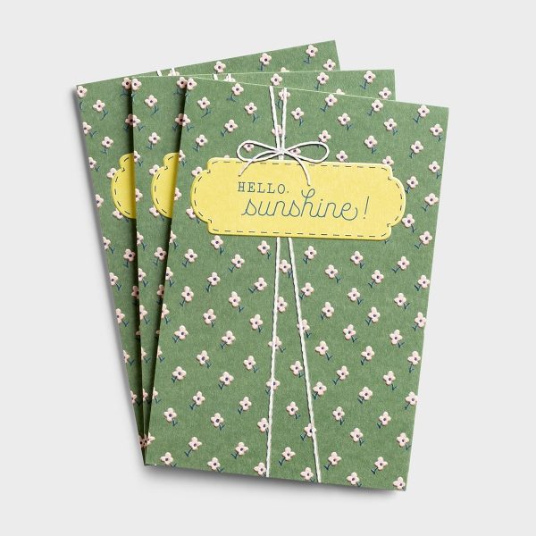 Birthday - Hello, Sunshine - 3 Premium Cards