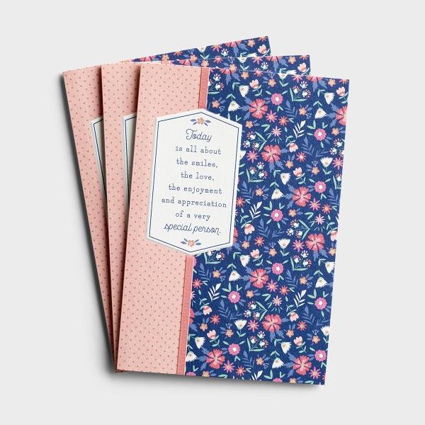 Birthday - Lots of Love - 3 Premium Cards