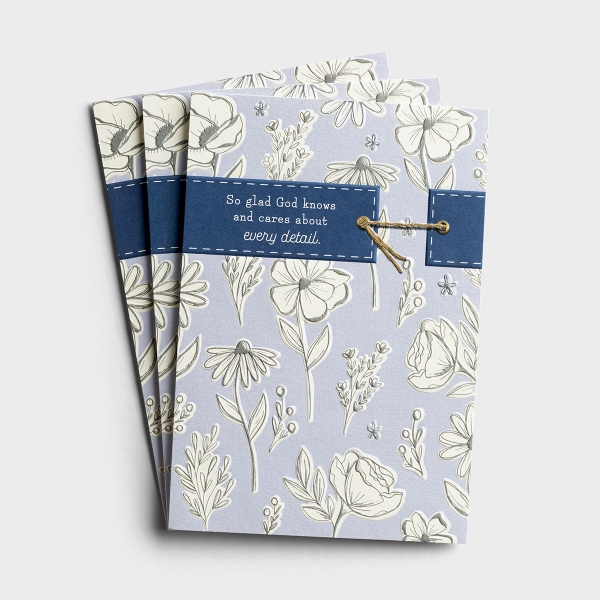 Praying for You - God Knows Every Detail - 3 Premium Cards, KJV