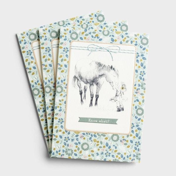 Encouragement - Know What? - 3 Premium Cards