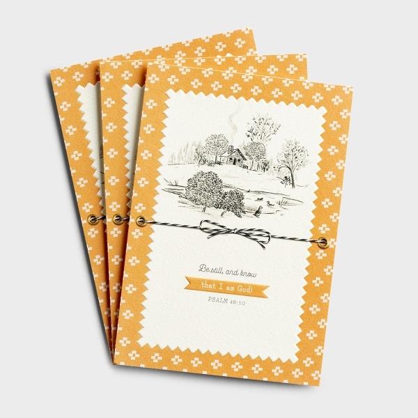 Encouragement - Be Still - 3 Premium Cards