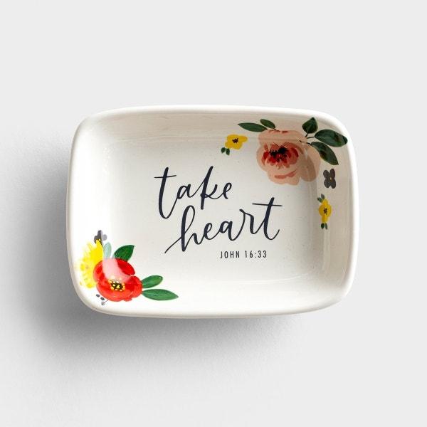 Studio 71 - Take Heart - Trinket Dish