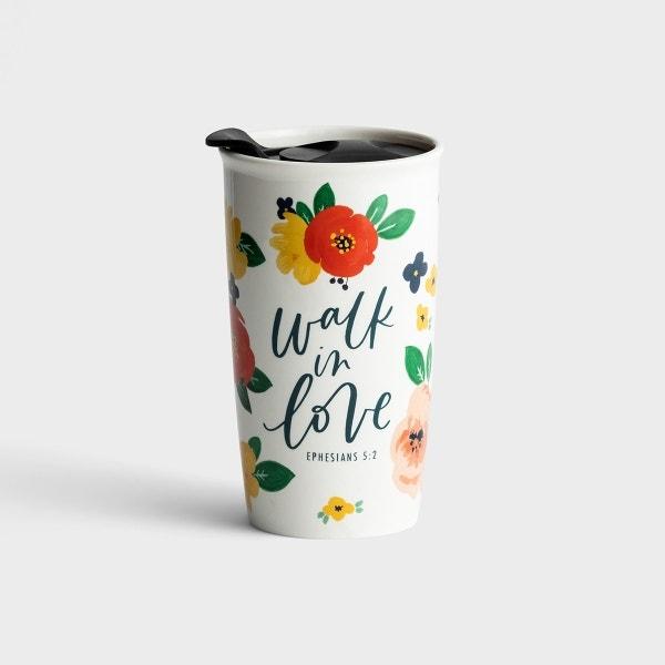 Studio 71 - Walk In Love - Ceramic Tumbler