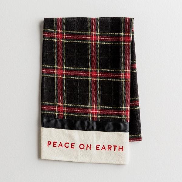 Candace Cameron Bure - Peace on Earth - Tea Towel