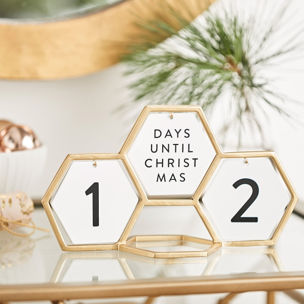 Candace Cameron Bure - Geometric Holiday Count Down - Christmas + Every Day