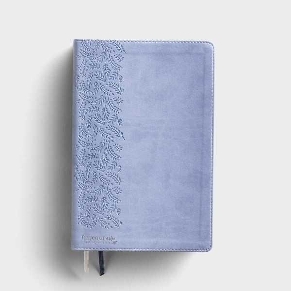 CSB (in)courage Devotional Bible - Blue LeatherTouch®