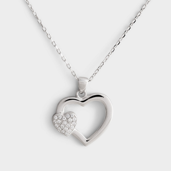 This beautiful sterling silver necklace is a wonderful gift for a mother in your life. A daily reminder that she is loved dearly by you and filled with strength from our Father. A linen textured backer card can be put anywhere so she can keep the fact tha