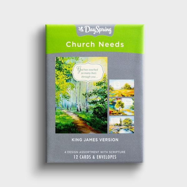 Church Occasions - You Are Welcome Here - 12 Boxed Cards, KJV