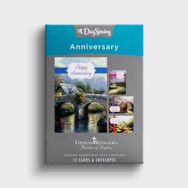 Anniversary - Thomas Kinkade - 12 Boxed Cards