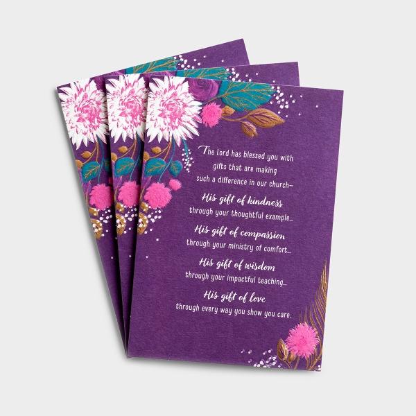 Ministry Appreciation - Women in Ministry - 1 Premium Card