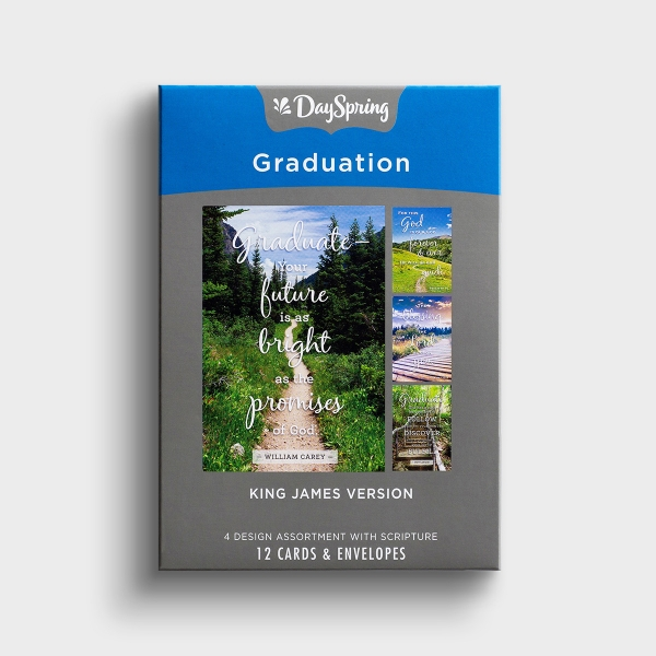Graduation - Paths - 12 Boxed Cards, KJV