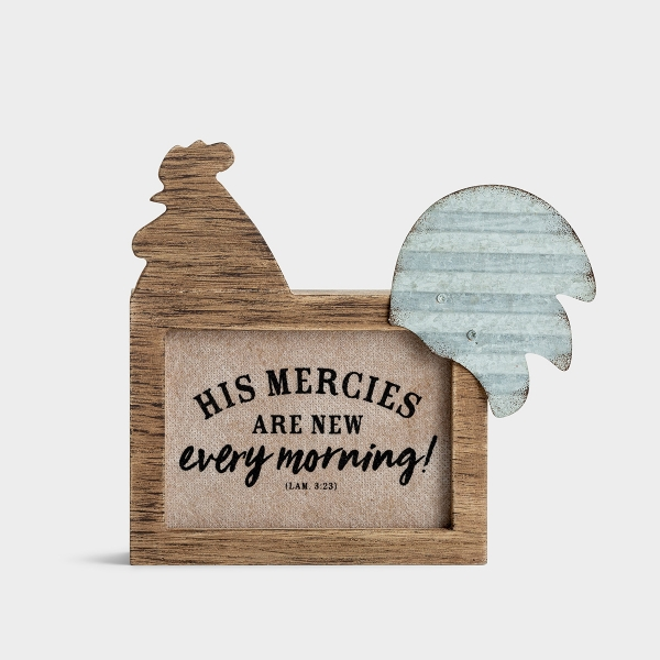 His Mercies Are New - Tabletop Decor