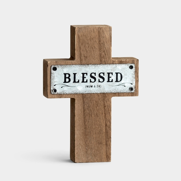 Blessed - Small Cross