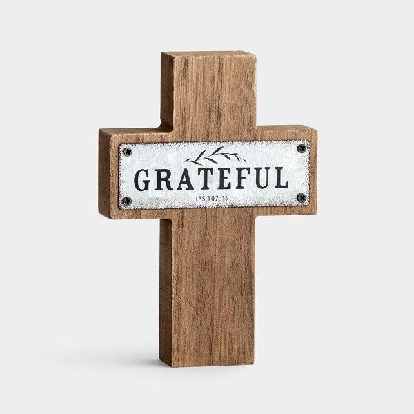 Grateful - Small Cross