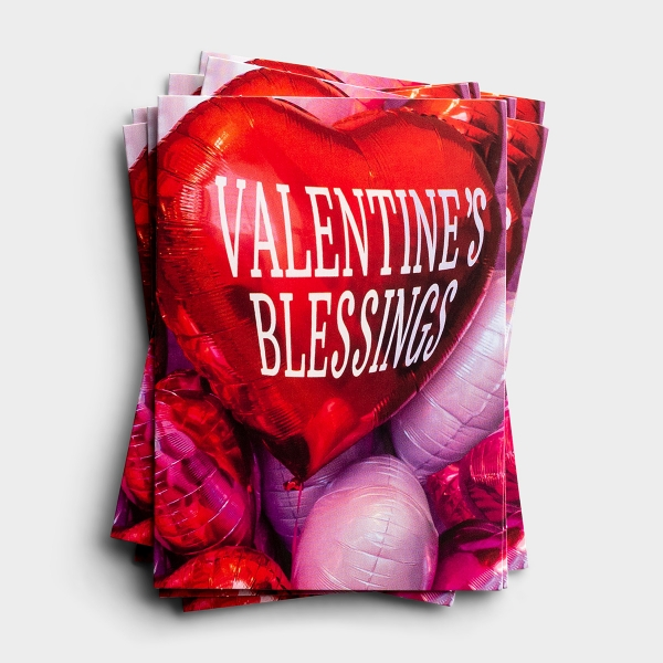 Valentine's Day - Blessings - 25 Note Cards