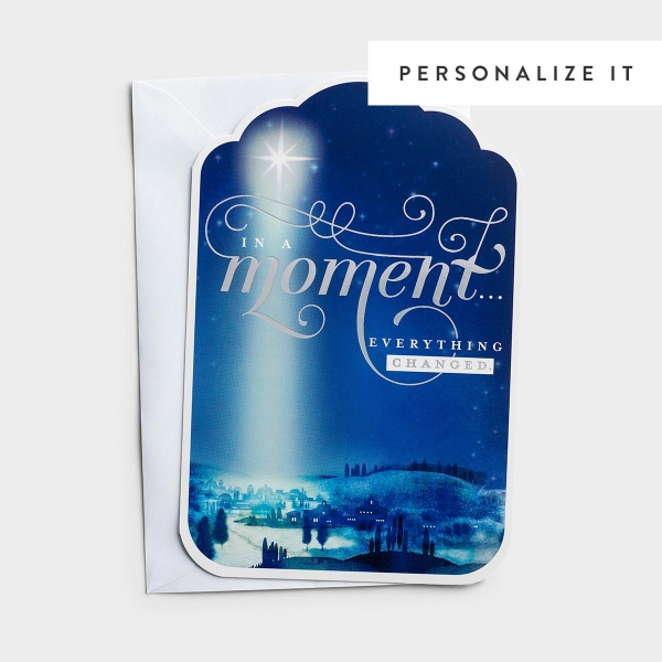 In a Moment - 50 Christmas Boxed Cards