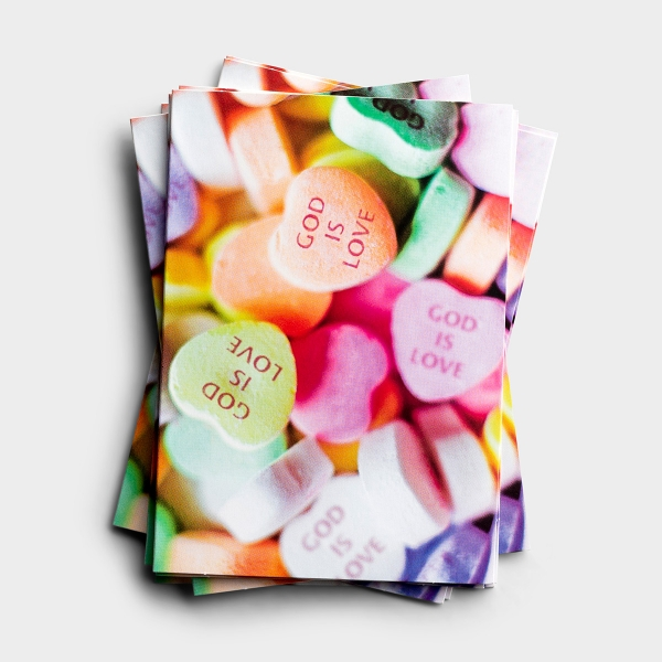 Valentine's Day - God is Love - 25 Note Cards