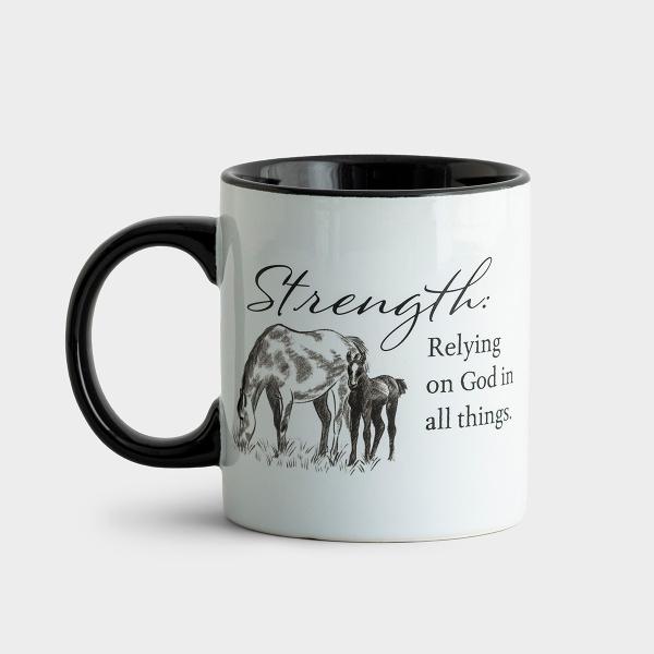 Strength - Farm Fresh Faith Mug