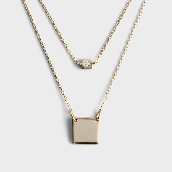 Faith of a Mustard Seed - Gold Necklace