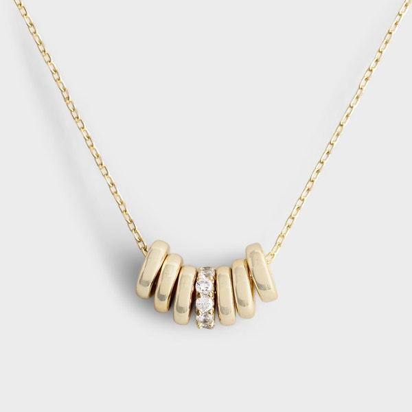 Unfolding Grace - Gold Necklace