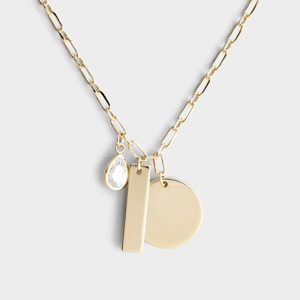 Honored - Gold Necklace (Inspired by Proverbs 31)