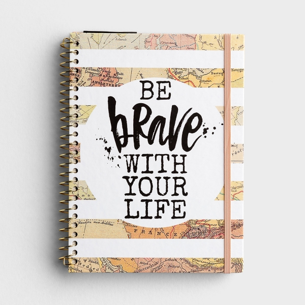 Katygirl - Be Brave With Your Life - Undated 12 Month Weekly Monthly Planner
