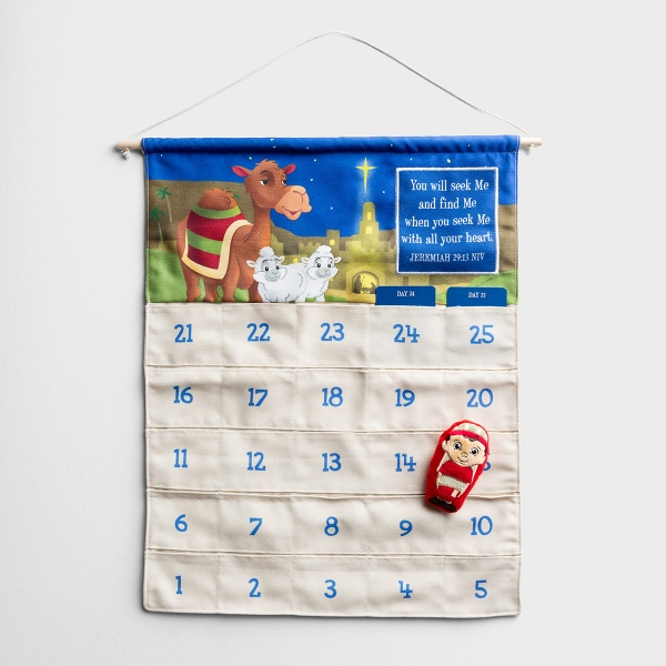 The Shepherd on the Search - Fabric Advent Calendar