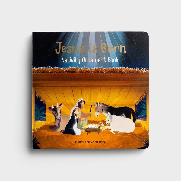 Jesus is Born - Advent Ornament Book