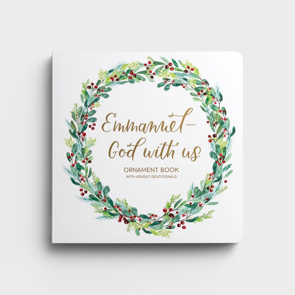 Emmanuel, God with Us - Advent Ornament Book