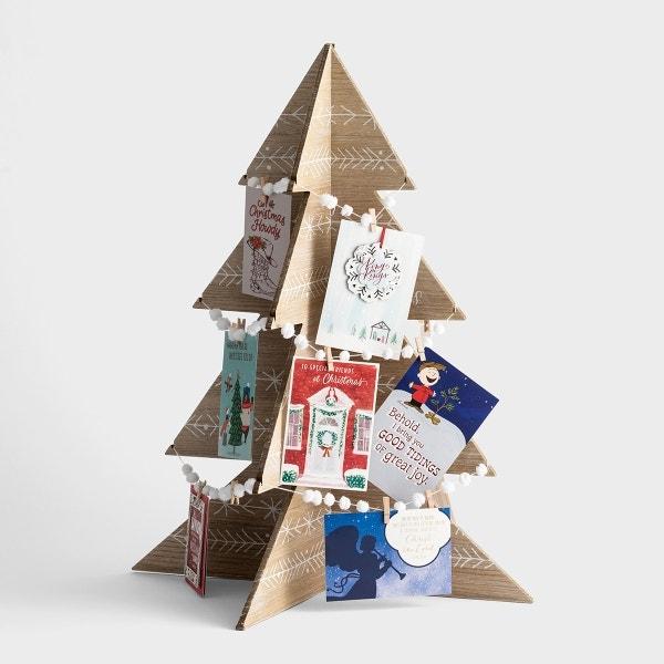 Emmanuel Christmas Card Holder