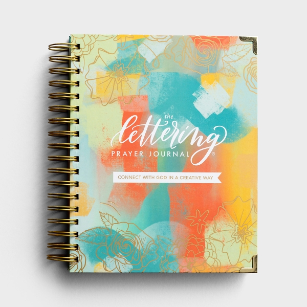 Krystal Whitten - The Lettering Prayer Journal® - Connect With God In A Creative Way