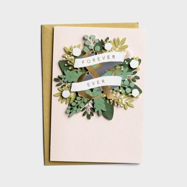 Wedding - Forever & Ever - 1 Premium Card