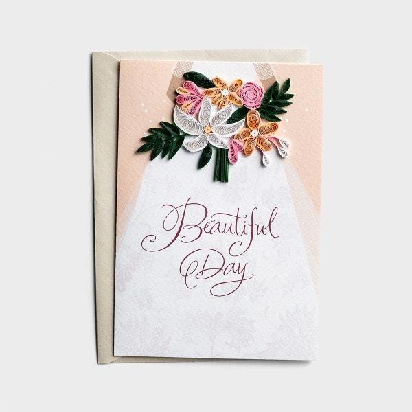 Wedding - Beautiful Day - 1 Premium Card