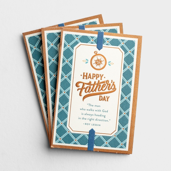 Father's Day - For Anyone - Right Direction - 3 Premium Cards