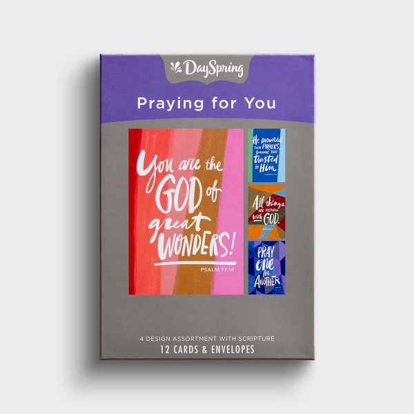 Praying for You - Scriptures - 12 Boxed Cards