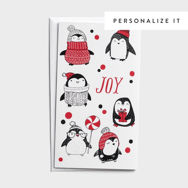Little Inspirations - Warm Penguins - 16 Christmas Boxed Cards