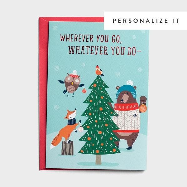 Wherever You Go - 18 Christmas Boxed Cards