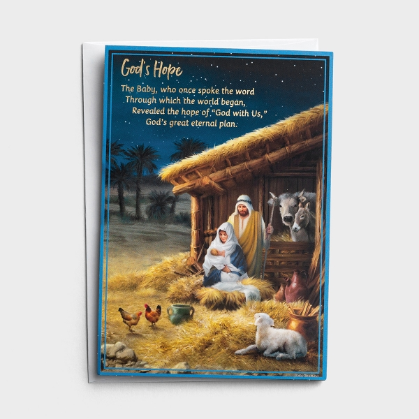 Christmas Story - 18 Christmas Boxed Cards, KJV - Special Edition 5-Panel