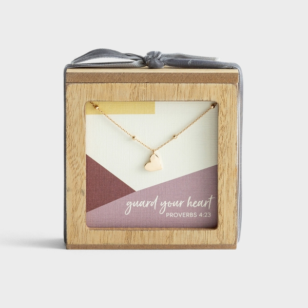 Guard Your Heart - Necklace and Promise Box Gift Set