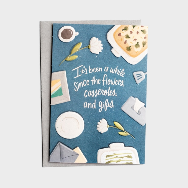 The Struggle Bus - Everyday Empathy - Remembering Your Loss - 1 Greeting Card