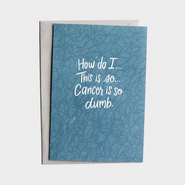 The Struggle Bus - Everyday Empathy - Cancer Support - 1 Greeting Card