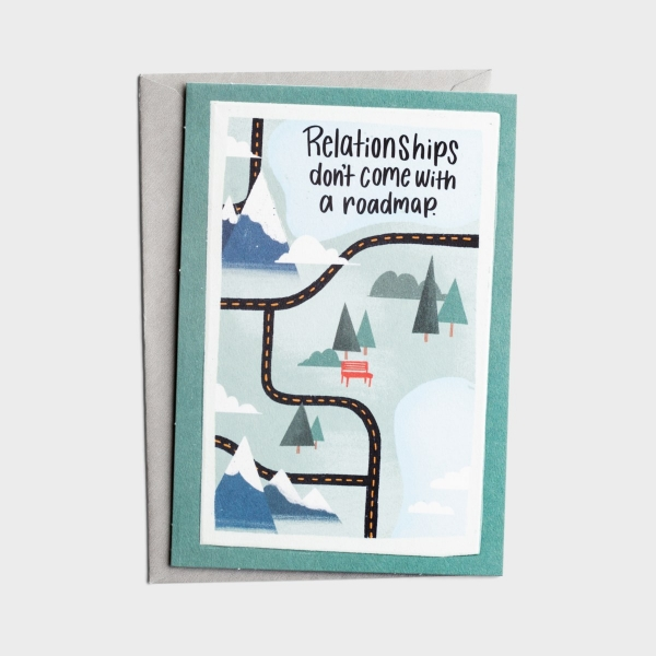The Struggle Bus - Everyday Empathy - Tough Relationships - 1 Greeting Card