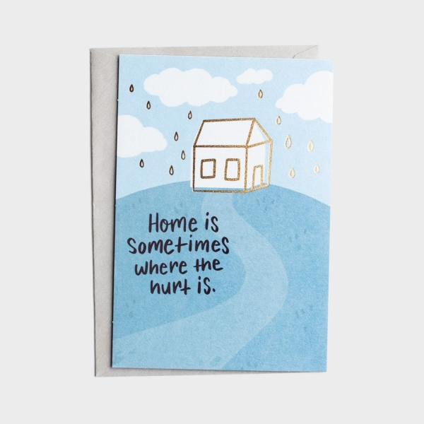 The Struggle Bus - Everyday Empathy - When Home Hurts - 1 Greeting Card