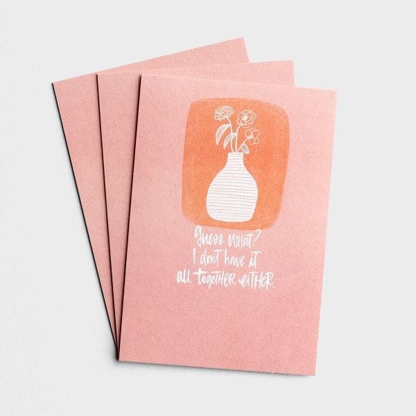 Katygirl - Encouragement - Guess What - 3 Premium Cards