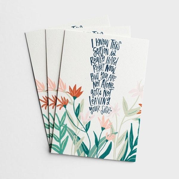 Katygirl - Encouragement - Hard Seasons - 3 Premium Cards