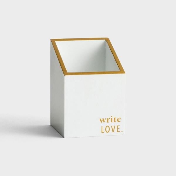Candace Cameron Bure - Write Love - Pencil Holder